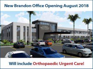 Orthopaedic Urgent Care Brandon Office