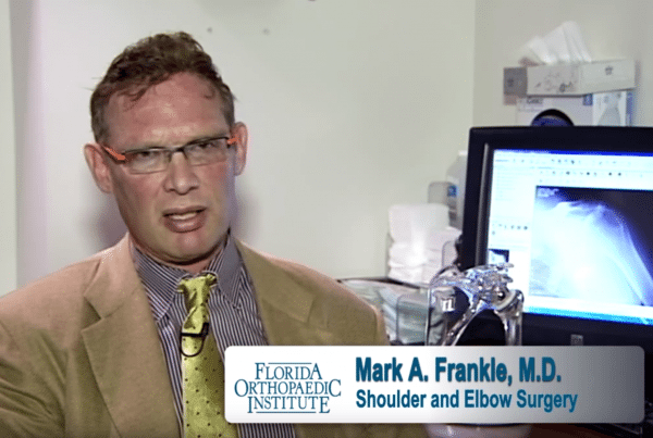Shoulder and Elbow Physician Mark A. Frankle, M.D.