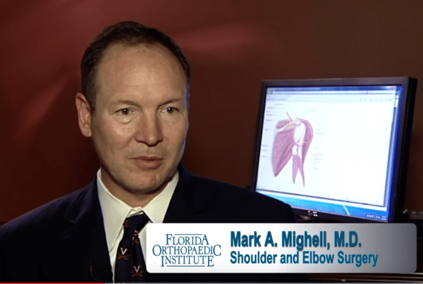 Platelet Rich Plasma Therapy Elbow and Shoulder Dr. Mighell