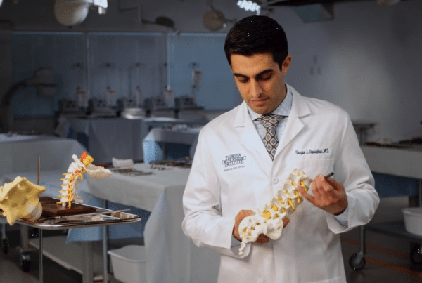Orthopaedic Minimally Invasive Spine Surgery Uses Dr. Armaghani