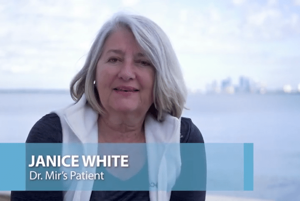 Ankle Fracture Testimonial Dr. Mir Florida Orthopaedic Institute