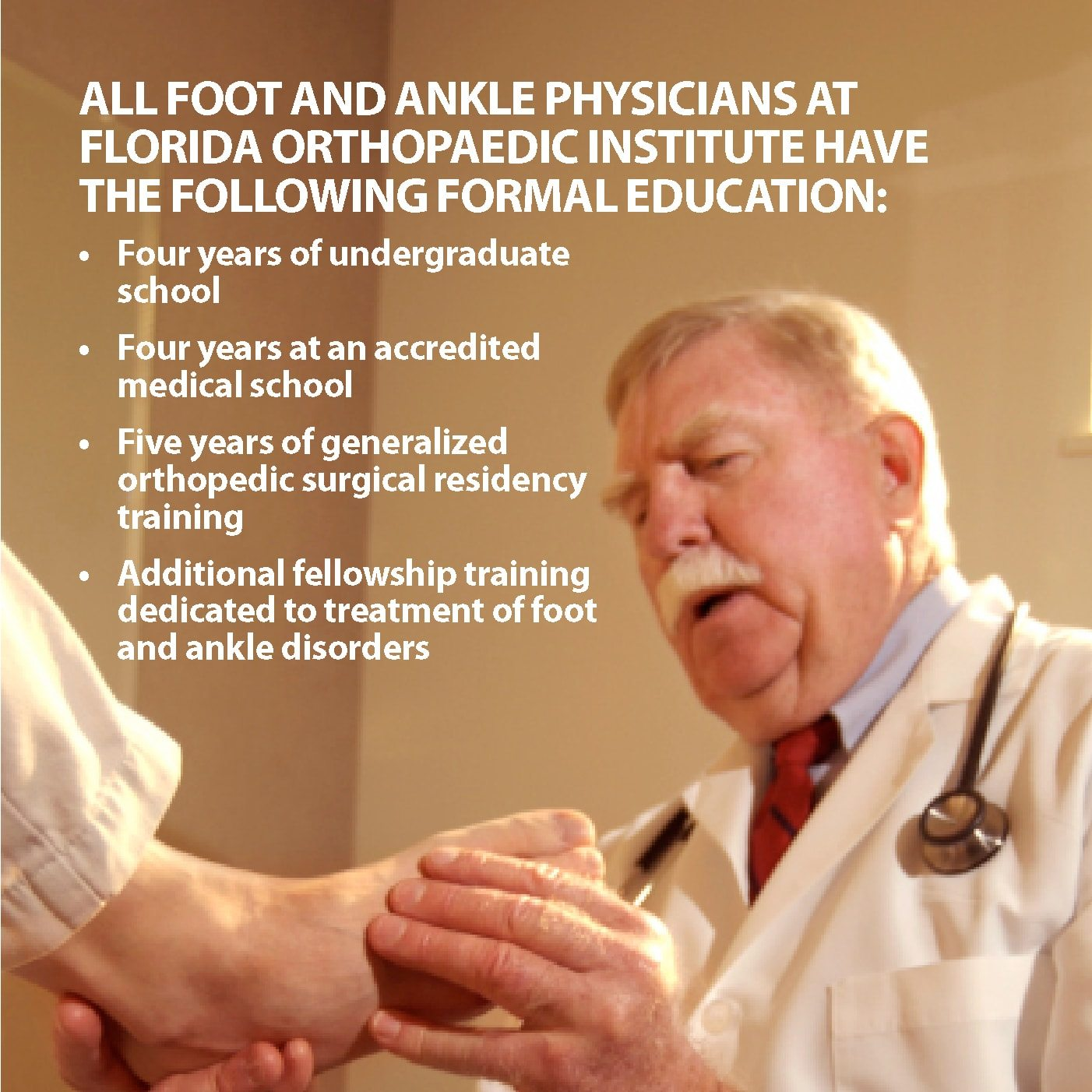 Podiatrist vs  Orthopaedist | Florida Orthopaedic Institute