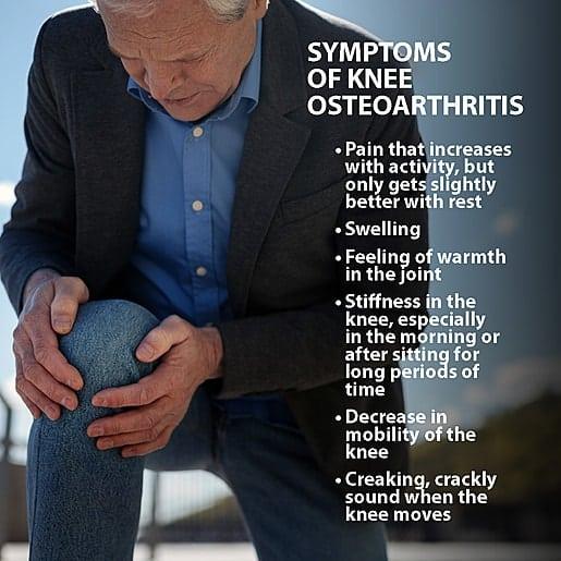 Partial Knee Replacement symptoms