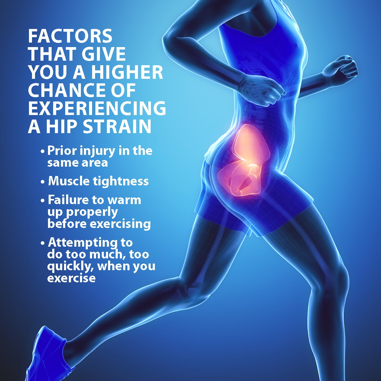 Hip Muscle Strains Information