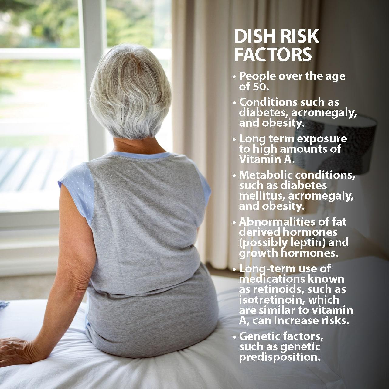 Diffuse Idiopathic Skeletal Hyperostosis Risk Factors