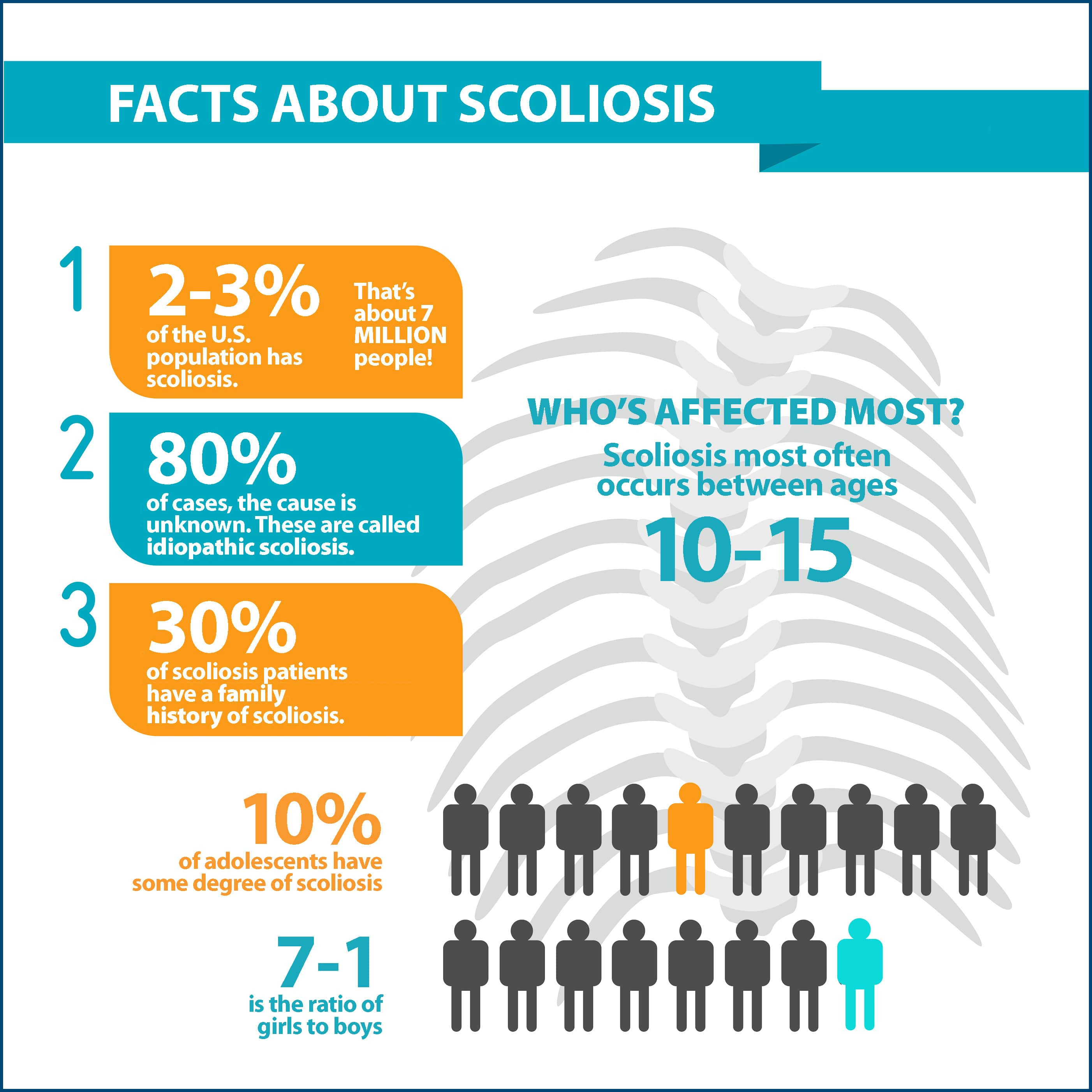Facts About Scoliosis Graphic