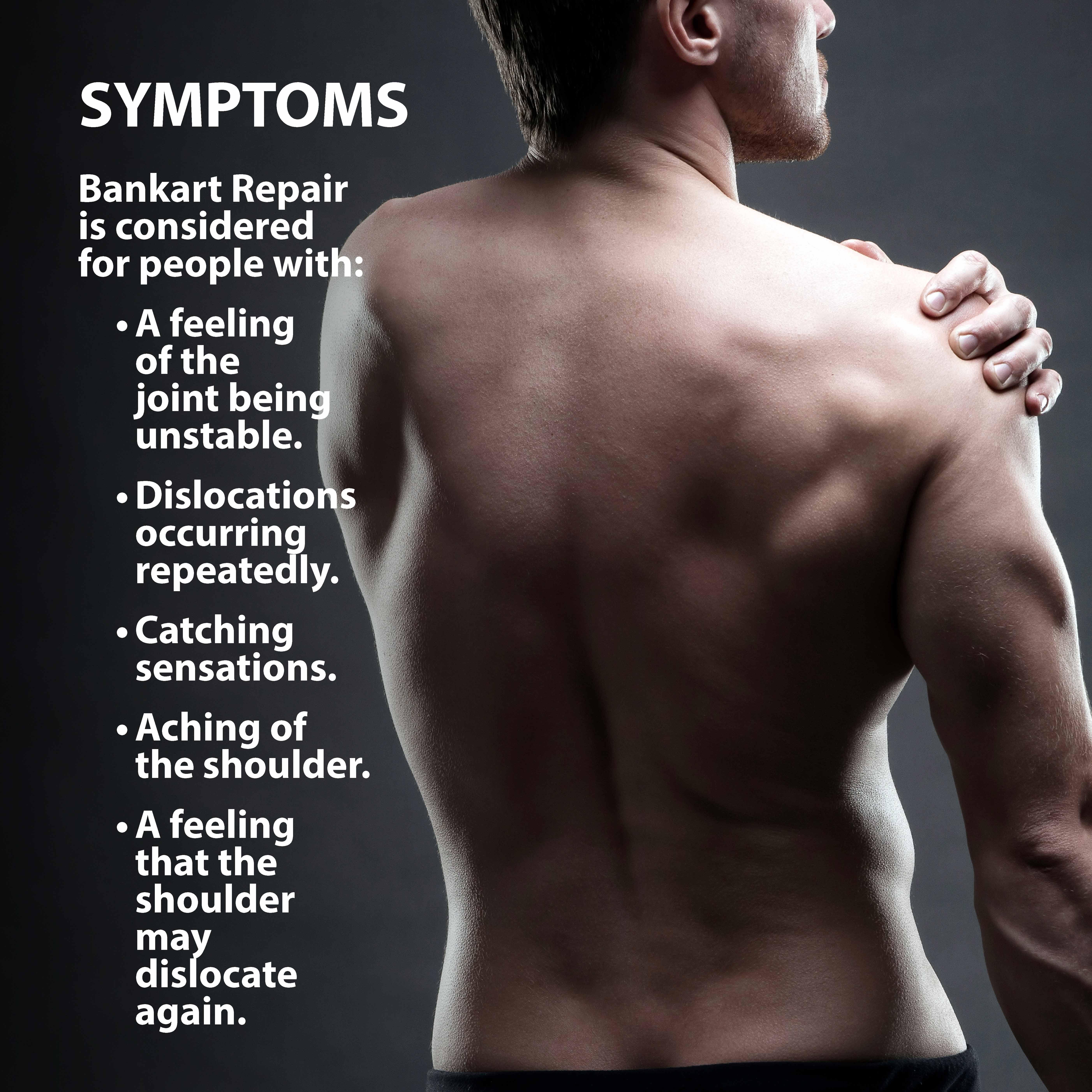Bankhart Repair Shoulder Pain Graphic