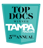 Top Docs Winner Tampa Magazine