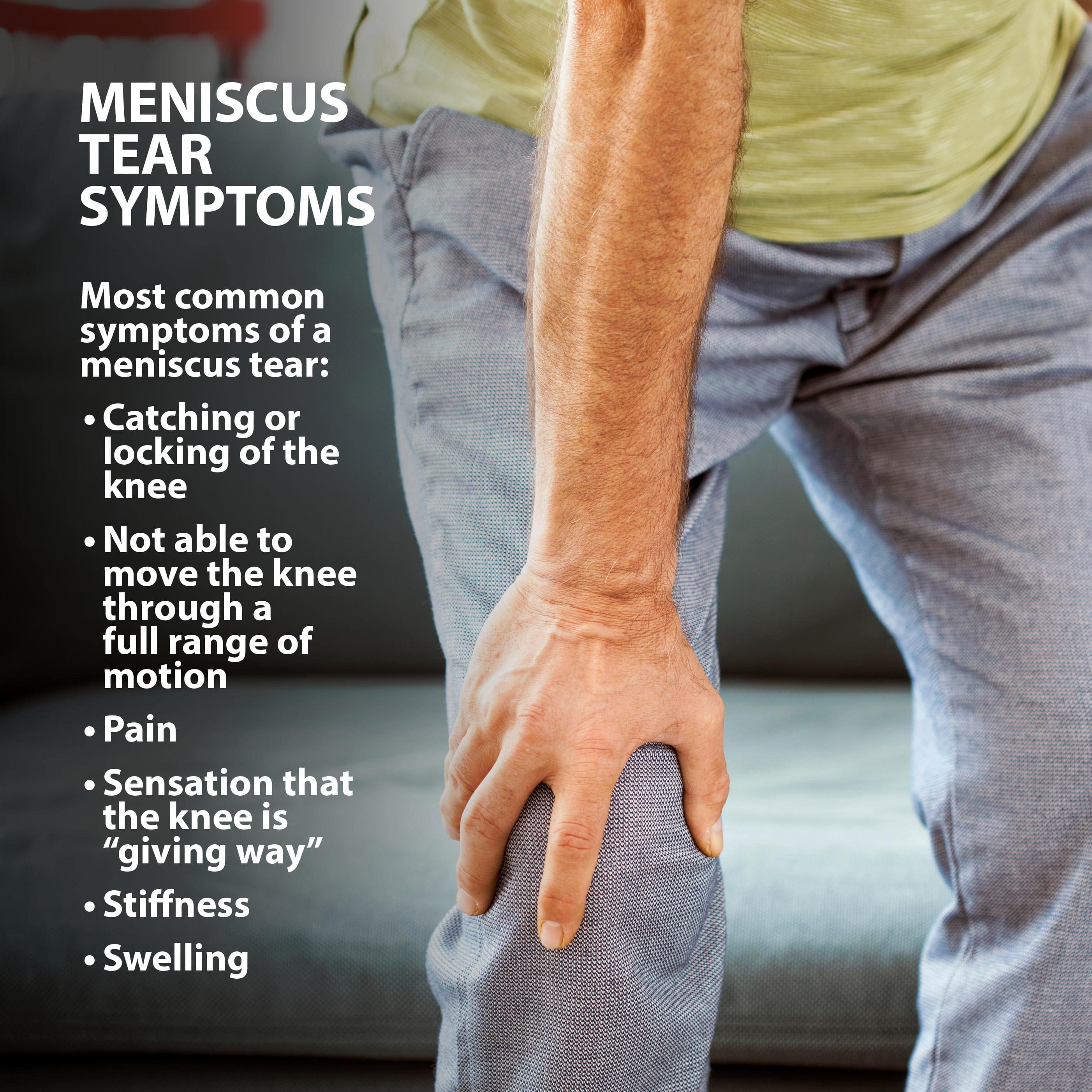 Meniscus Tear Graphic 4