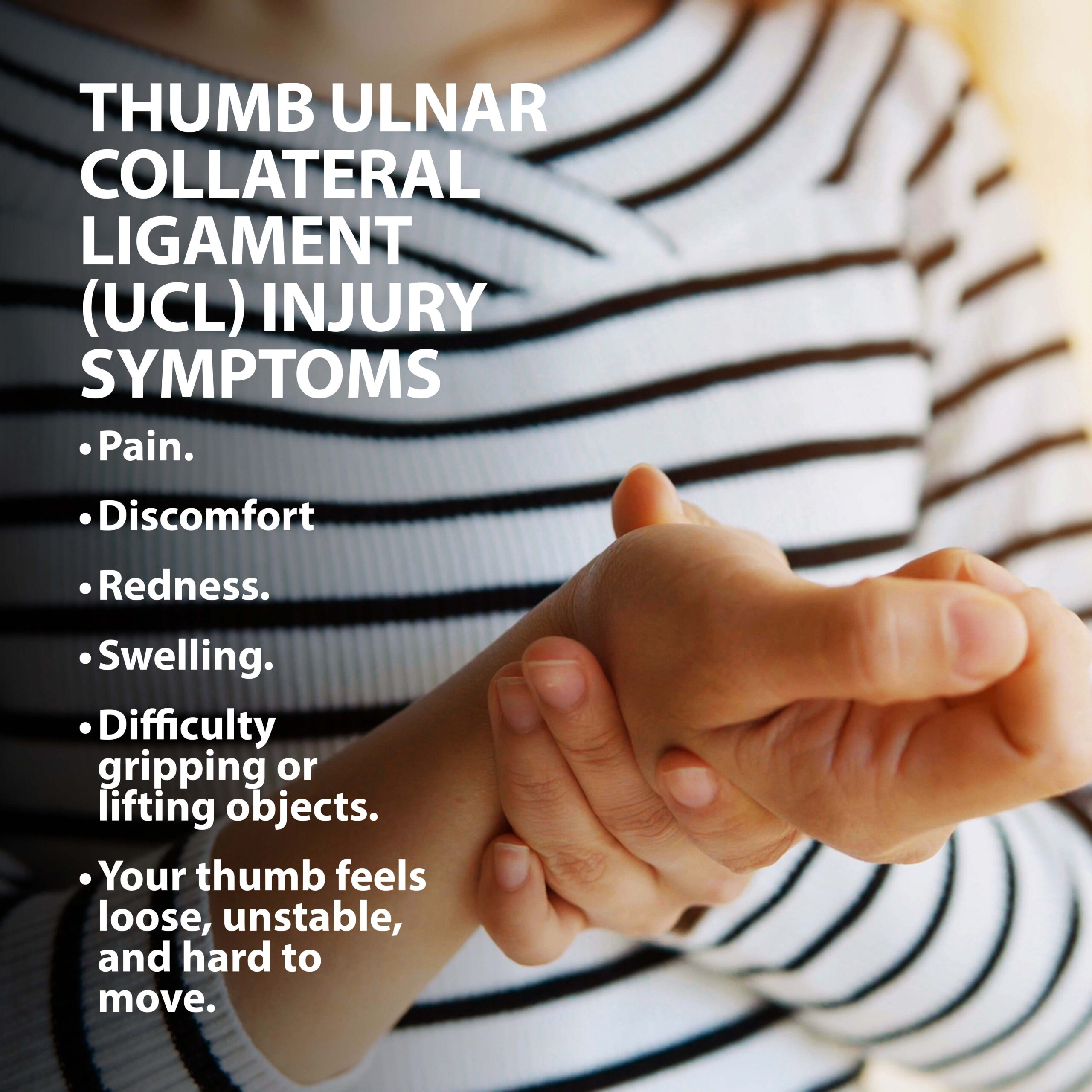 thumb ulnar collateral ligament